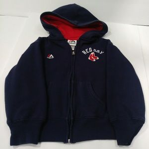 Red Sox Hooded Sweatshirt Color: Navy Size: 5/6